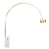 Pre-order 10 days delivery   Arc  Lamp with natural marble base BP0078-G