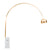 Arc  Lamp with natural marble base BP0078-G