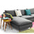 Milano U shape sofa and 7 cushions MI006