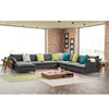 Milano U shape sofa and 6 cushions MI006 - ebarza