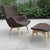 Lounge Chair and Ottoman BP8125-BR