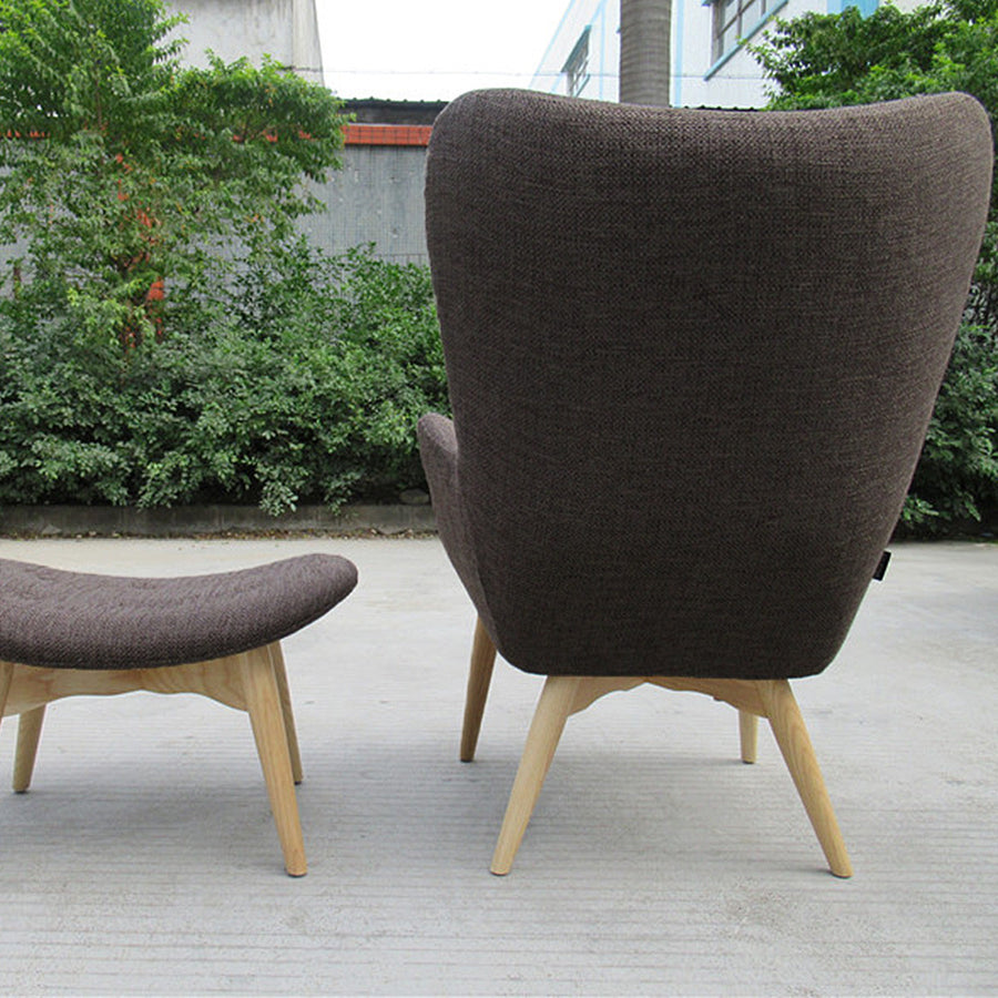 Lounge Chair and Ottoman BP8125-BR - ebarza