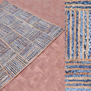 90X300 cm Braided handmade Jute Rug JH-2346-long