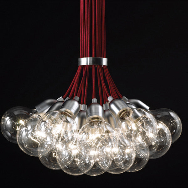 9 Heads  Industrial pendant  Lamp CY-NEW-red