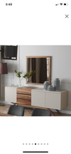Arya sideboard with mirror delivery 60 days