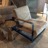 Iron  Lounge Chair IRO119