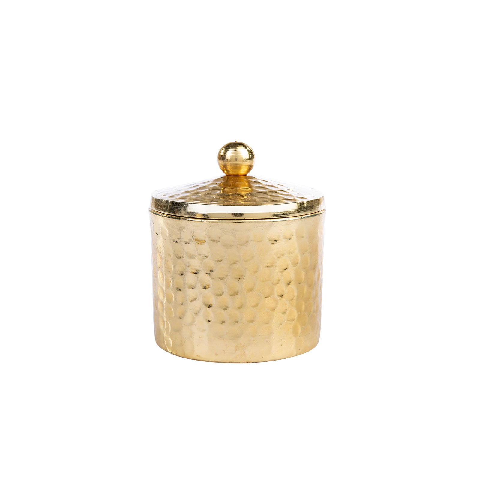 Karaca set of 2 Morocco Small Scented Candle  in Gold Metal Box 153.20.01.0177 -  كاراجا شمعة مغربية صغيرة معطرة في علبة معدنية ذهبية - Shop Online Furniture and Home Decor Store in Dubai, UAE at ebarza