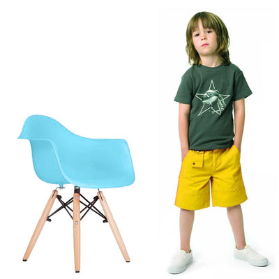 Kids Chair -Plastic- MSK0055Blue