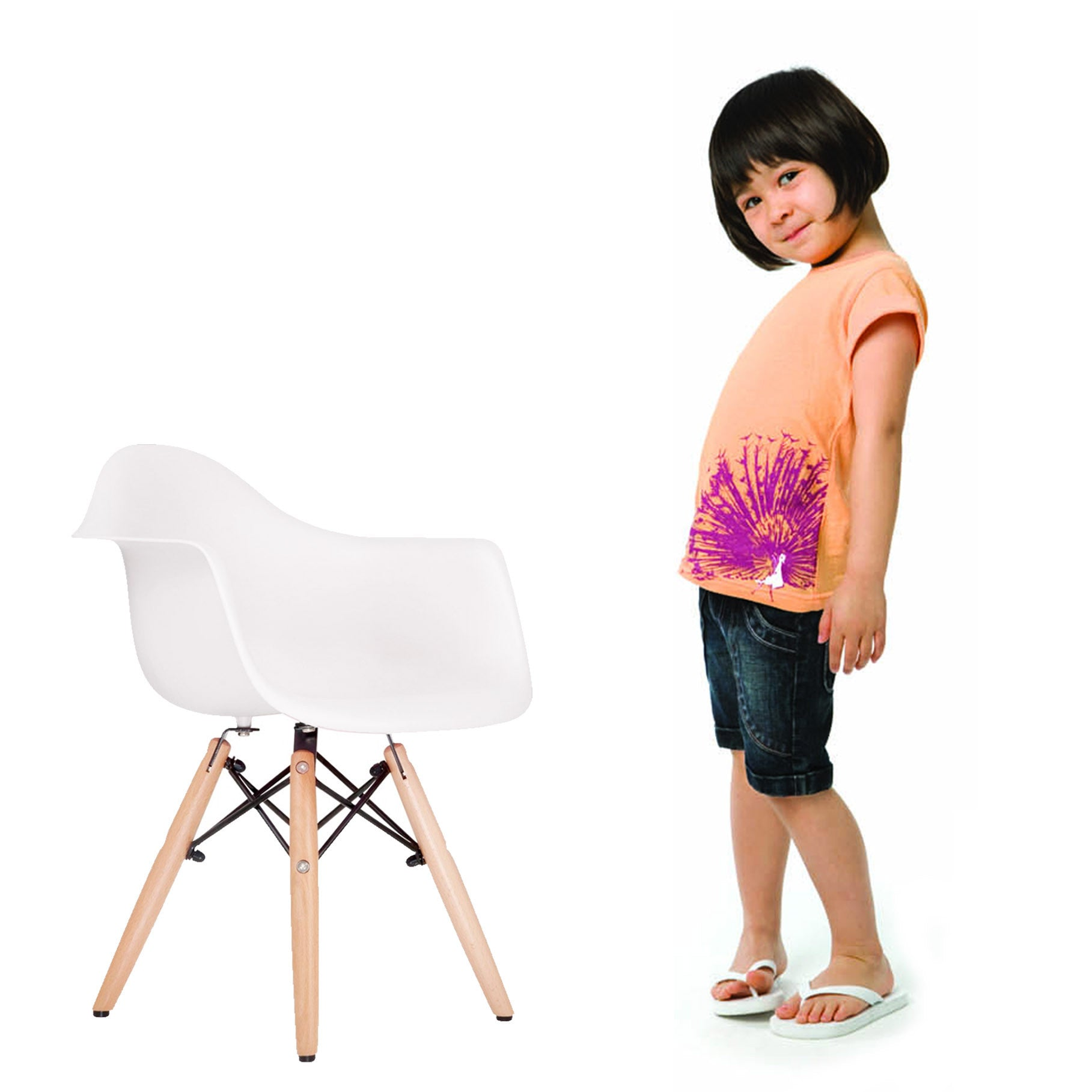 Kids Chair -Plastic- PC-0119W -  كرسي اطفال - بلاستيك - Shop Online Furniture and Home Decor Store in Dubai, UAE at ebarza