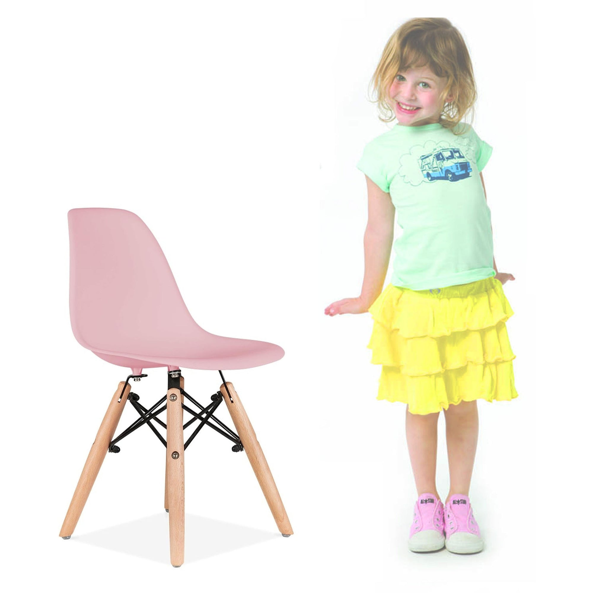 Kids Chair -Plastic- MSK0055P PC-0117W-P -  كرسي اطفال - بلاستيك - Shop Online Furniture and Home Decor Store in Dubai, UAE at ebarza