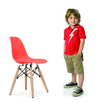 Kids - Kids Chair -Plastic- MSK0055W