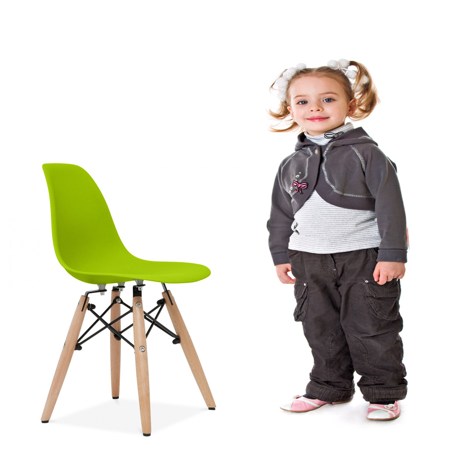 Kids Chair -Plastic- MSK0055W PC-0117W-G -  كرسي اطفال - بلاستيك - Shop Online Furniture and Home Decor Store in Dubai, UAE at ebarza