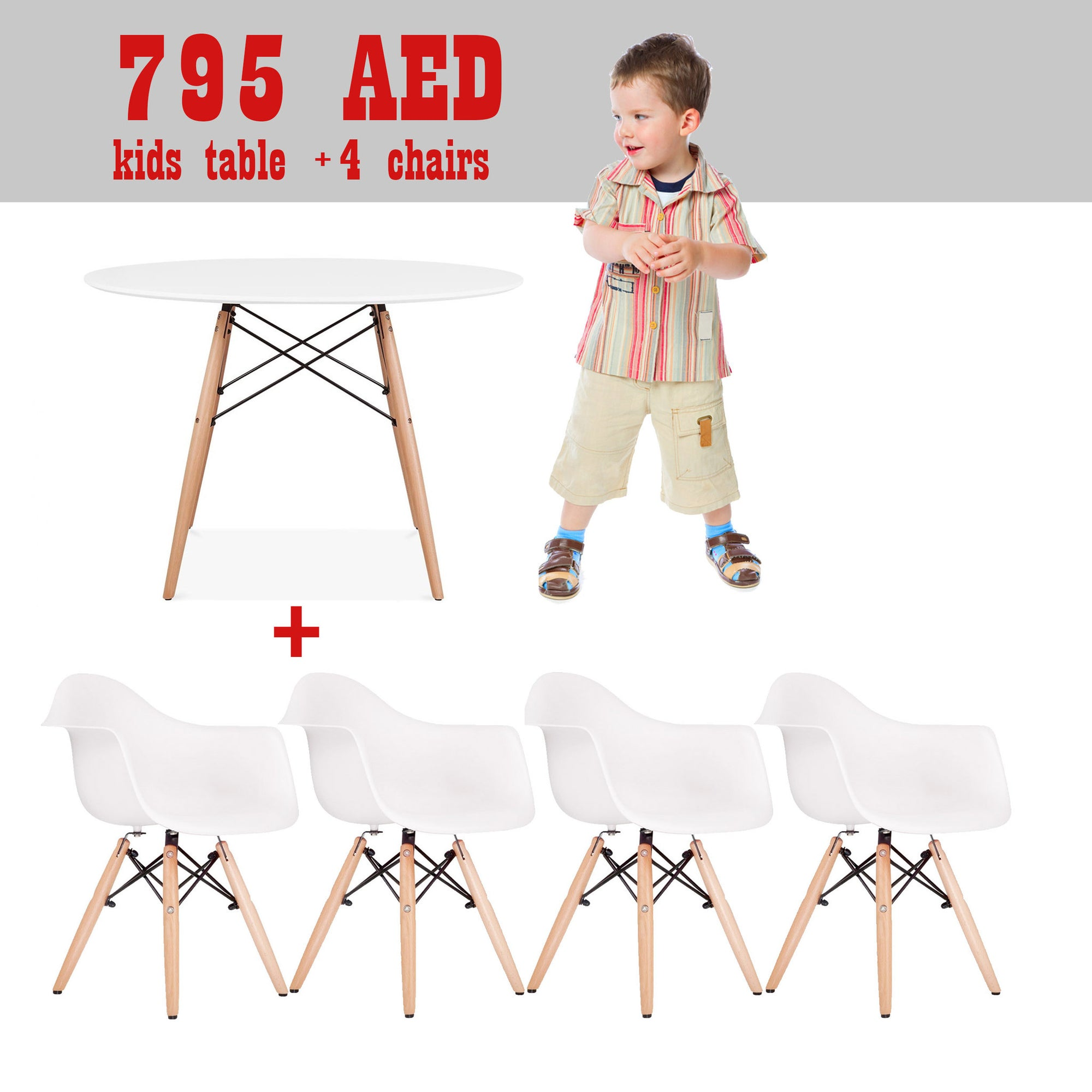 Kids - Promo Set Of Table And 2 Chairs   SET4A1TPR