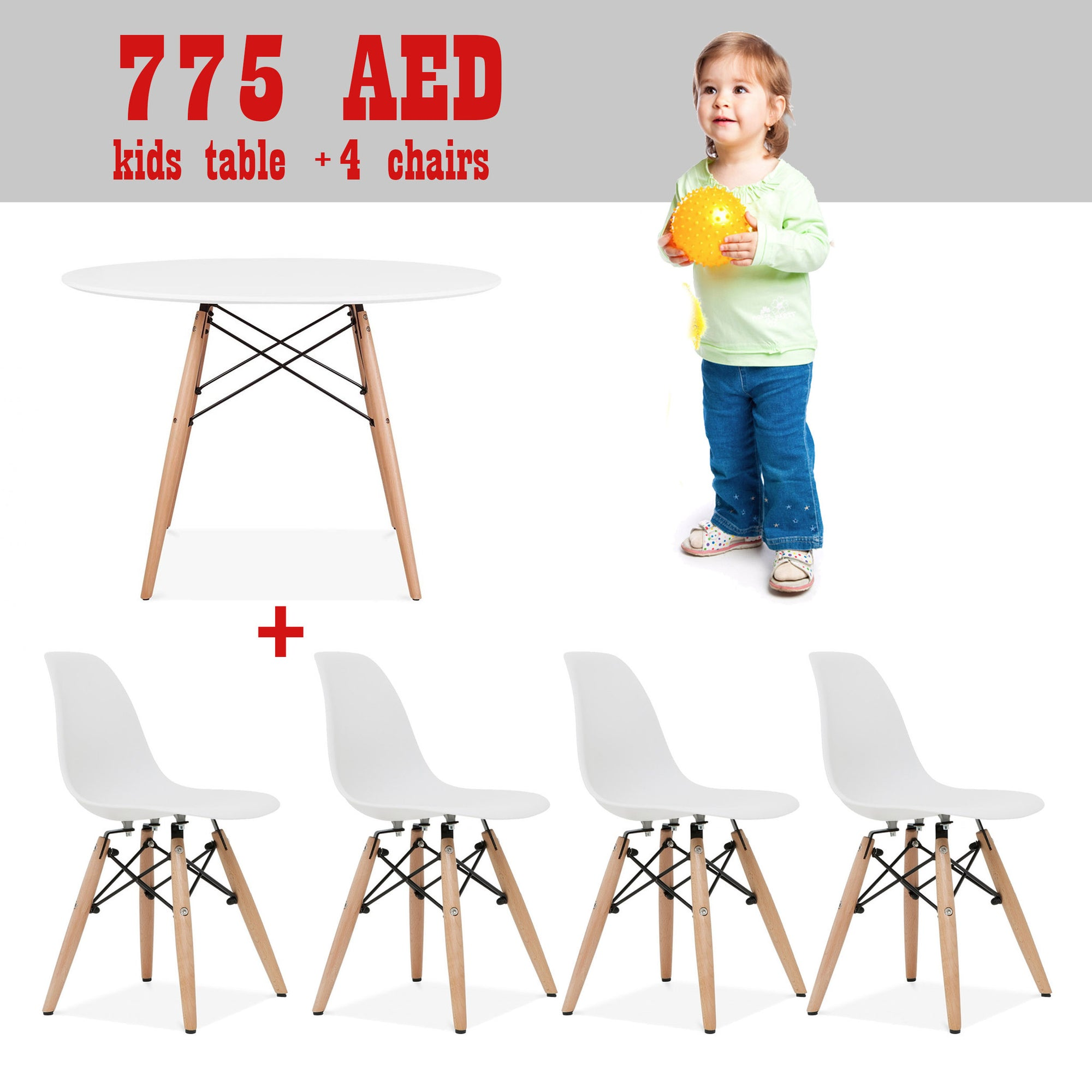 Kids - Promo Set Of Table And 4 Chairs   SET4NA1TPR