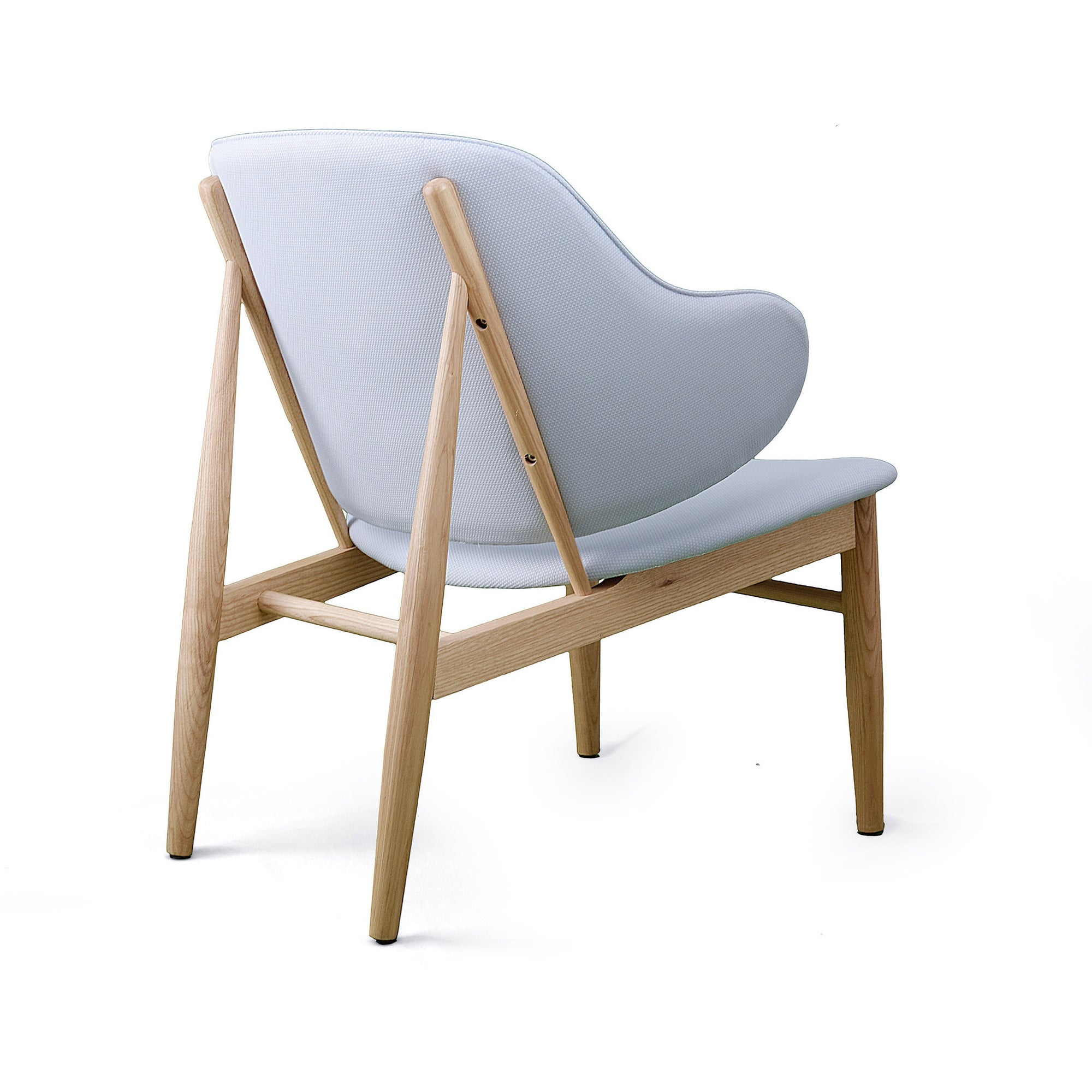 Lounge  Chair with Solid ash wood base BP8131-PUR - ebarza