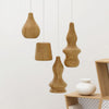 Set of 4 Arco Solid Wood pendant lamp BPMT10-N - ebarza