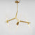 Branch 6 heads  Chandelier  CY-NEW-002-6-G