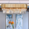 Pre-Order 40 days delivery Crystal 10 heads Pendant lamp  CY-DD-N-103