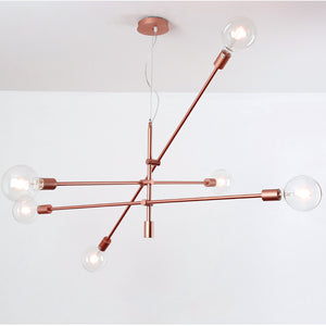 Spider 6 heads Pendant lamp CY-DD-1111-RG