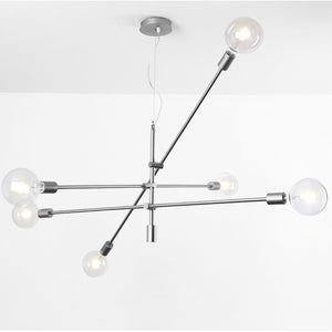 Spider 6 Heads Pendant Lamp CY-DD-1111-CH