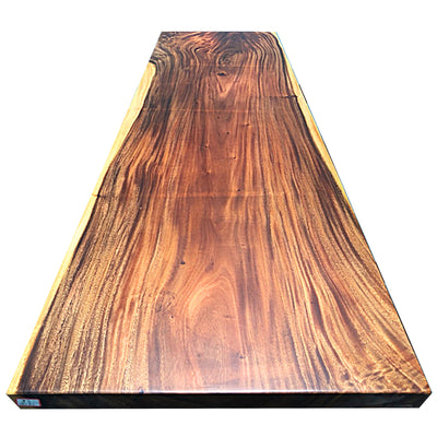 LIVE EDGE DINING TABLE 290-84-6.5