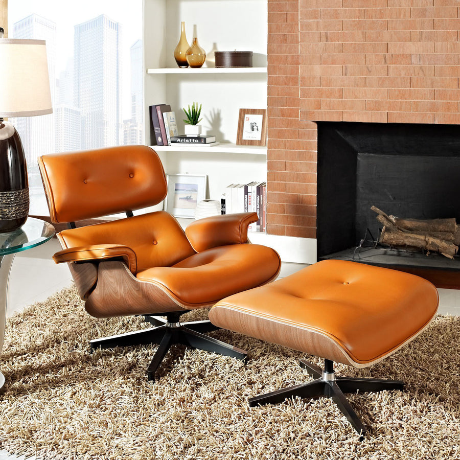 Lounge Chair - Lounge Chair And Ottoman Tall BP8026-TWO
