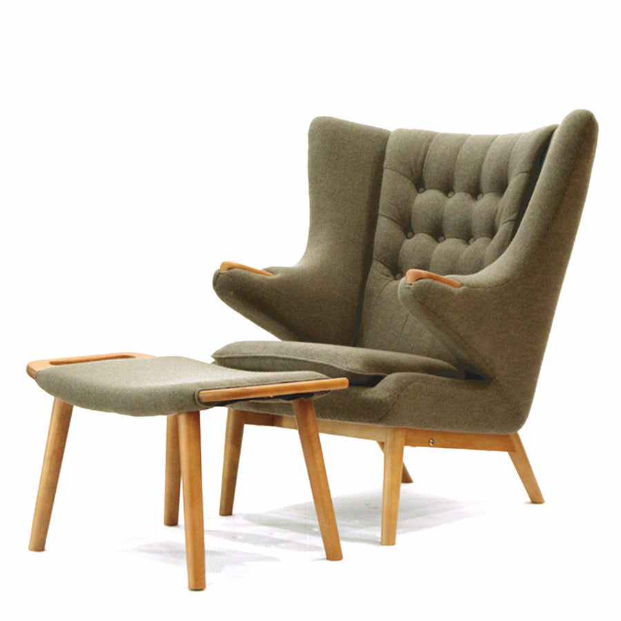 Pre-Order 60 days delivery Lounge Chair and Ottoman TB0075 - ebarza