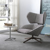 Monaco Swivel Lounge Chair  LC016-BR - ebarza