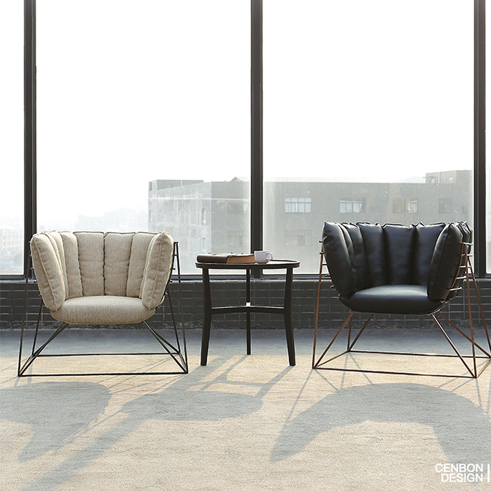 Wire  Lounge Chair  LC023 - ebarza