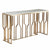 Natural Marble & Stainless Steel console Table BP8812- S-G - ebarza