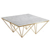 Natural Marble & Stainless Steel Table BP8810- B-G