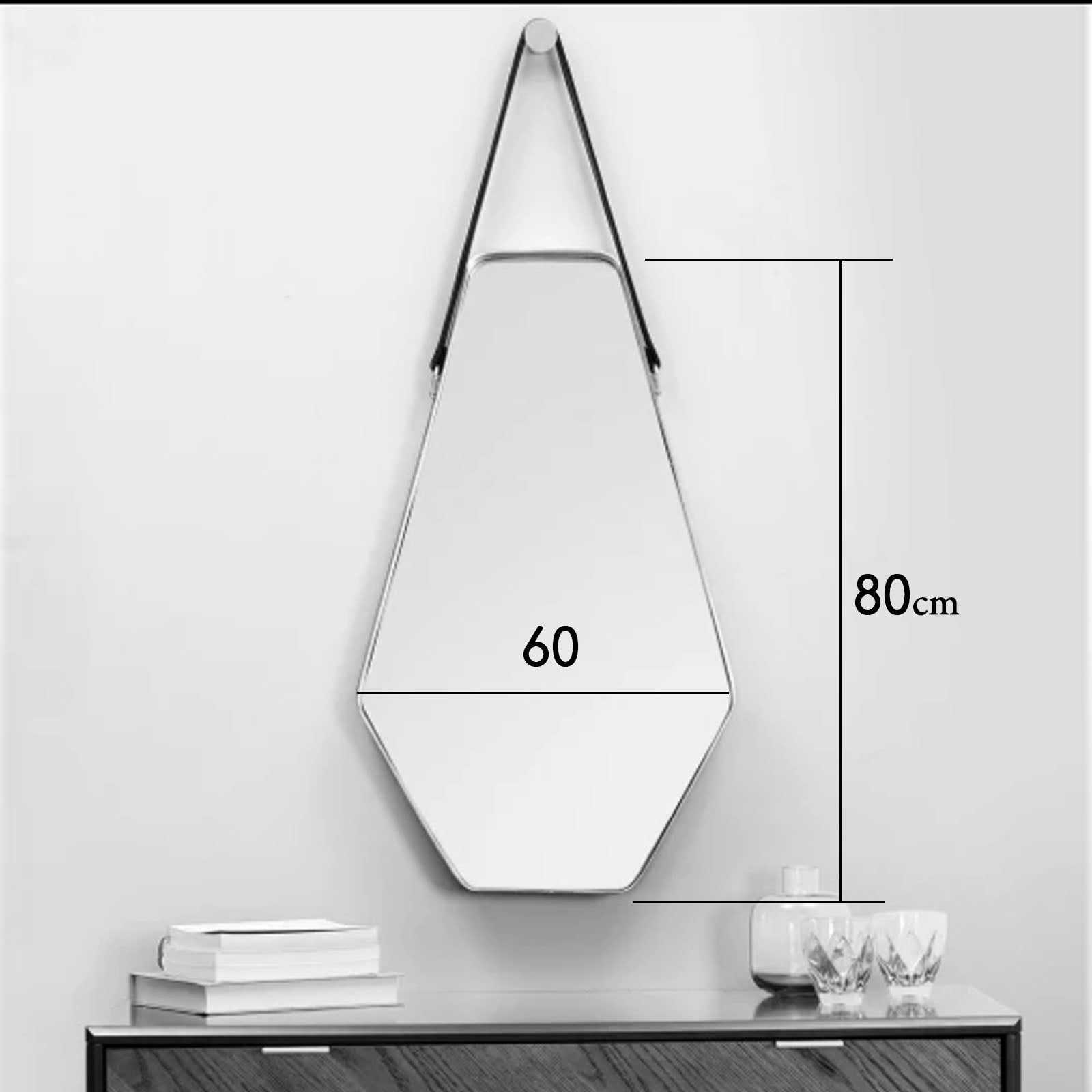 Mid century French Style Mirror  OA-5830-H