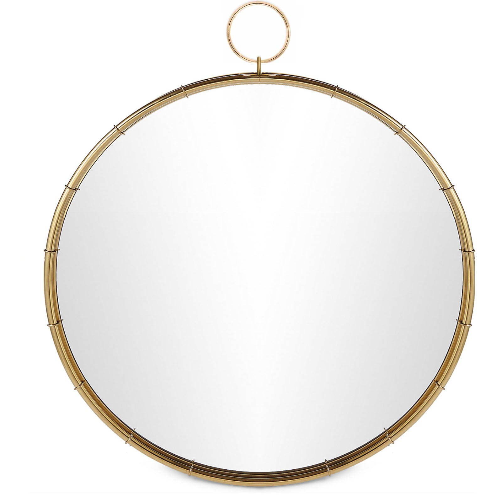 Mid century French Style Mirror  OA-5910-G -  مرآة على الطراز الفرنسي ميد سينشري - Shop Online Furniture and Home Decor Store in Dubai, UAE at ebarza