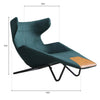 Pre-order 60  days delivery Relax Lounge Chair REX31W - ebarza