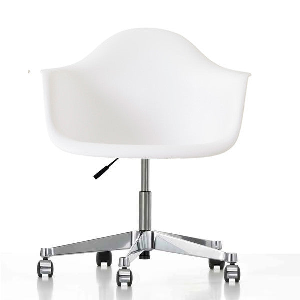 Office Chairs - Classic Plastic & Aluminum  Office Chair  BP8007FW-PW