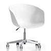 Classic Plastic & Aluminum  Office Chair  OF-PC-125E SEAT-W