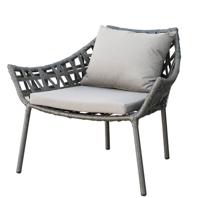 outdoor  Lounge Chair& Ottoman 09820502