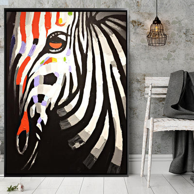 Painting - Handpainted Art Painting With Aluminum Frame 95x125cm PNZ008