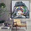 Pre-Order 60 days Delivery Handpainted Art Painting with  frame 105x105cm SOAP0017X-SOAP064