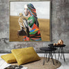 Pre-Order 30 days delivery Handpainted Art Painting with  frame SO877 100X100 SOAP155