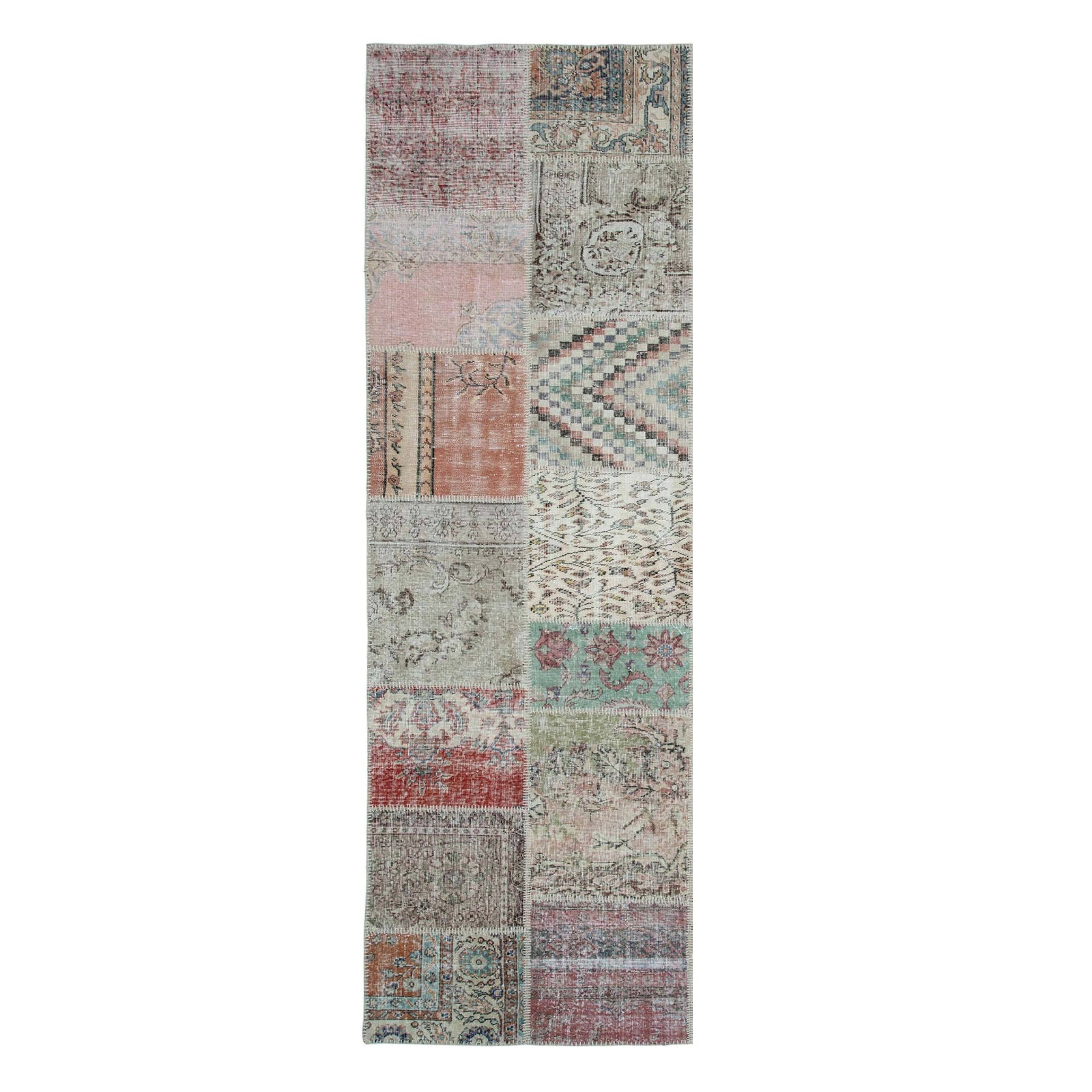 90x300 Cm HALI Bursa Handmade over dyed RUG  PW024-Long - ebarza