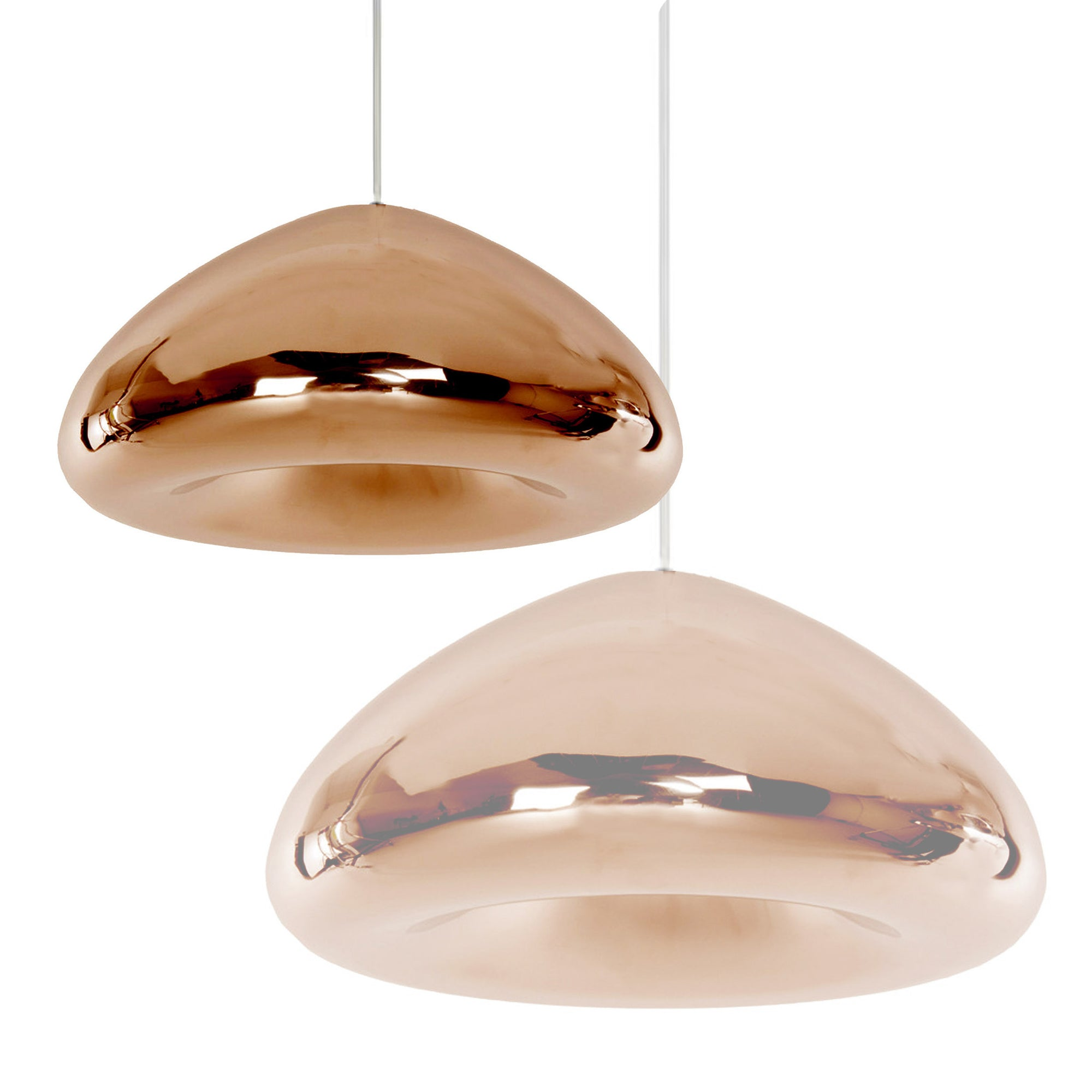 Bronze Glass pendant lamp 18cm BP0183-18BR - ebarza