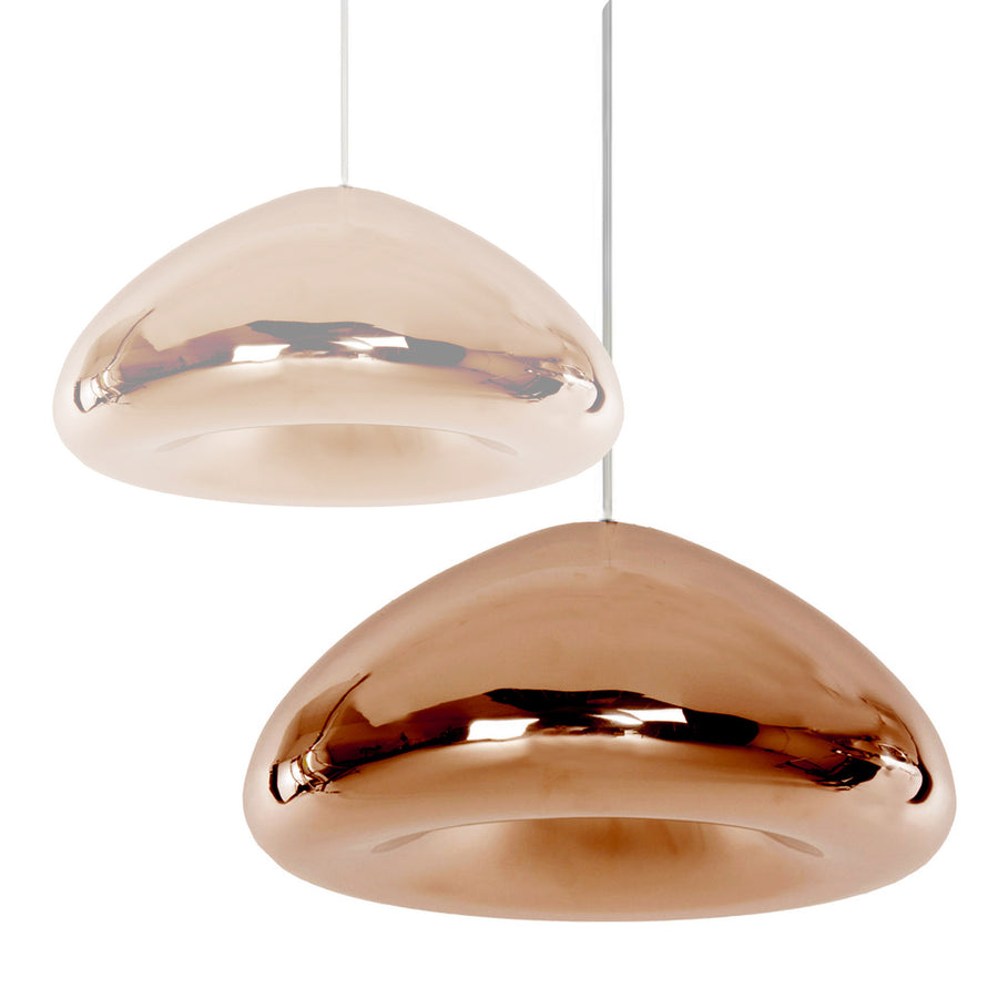 Bronze Glass pendant lamp 30cm BP0183-30BR - ebarza