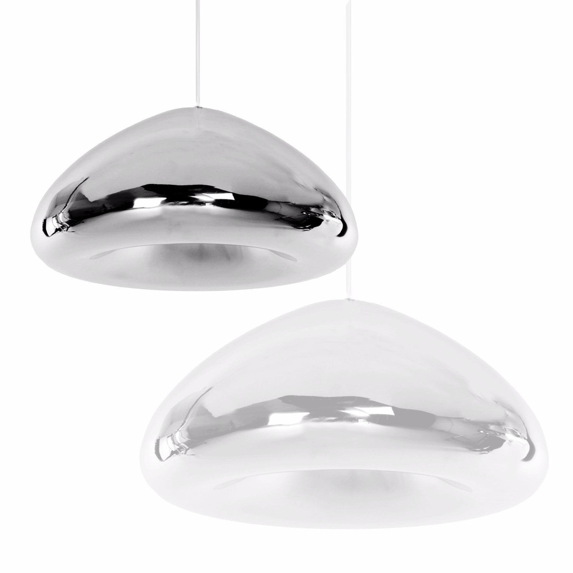 Pendant Lamp - Chrome Glass Pendant Lamp 18cm BP0183-18CH
