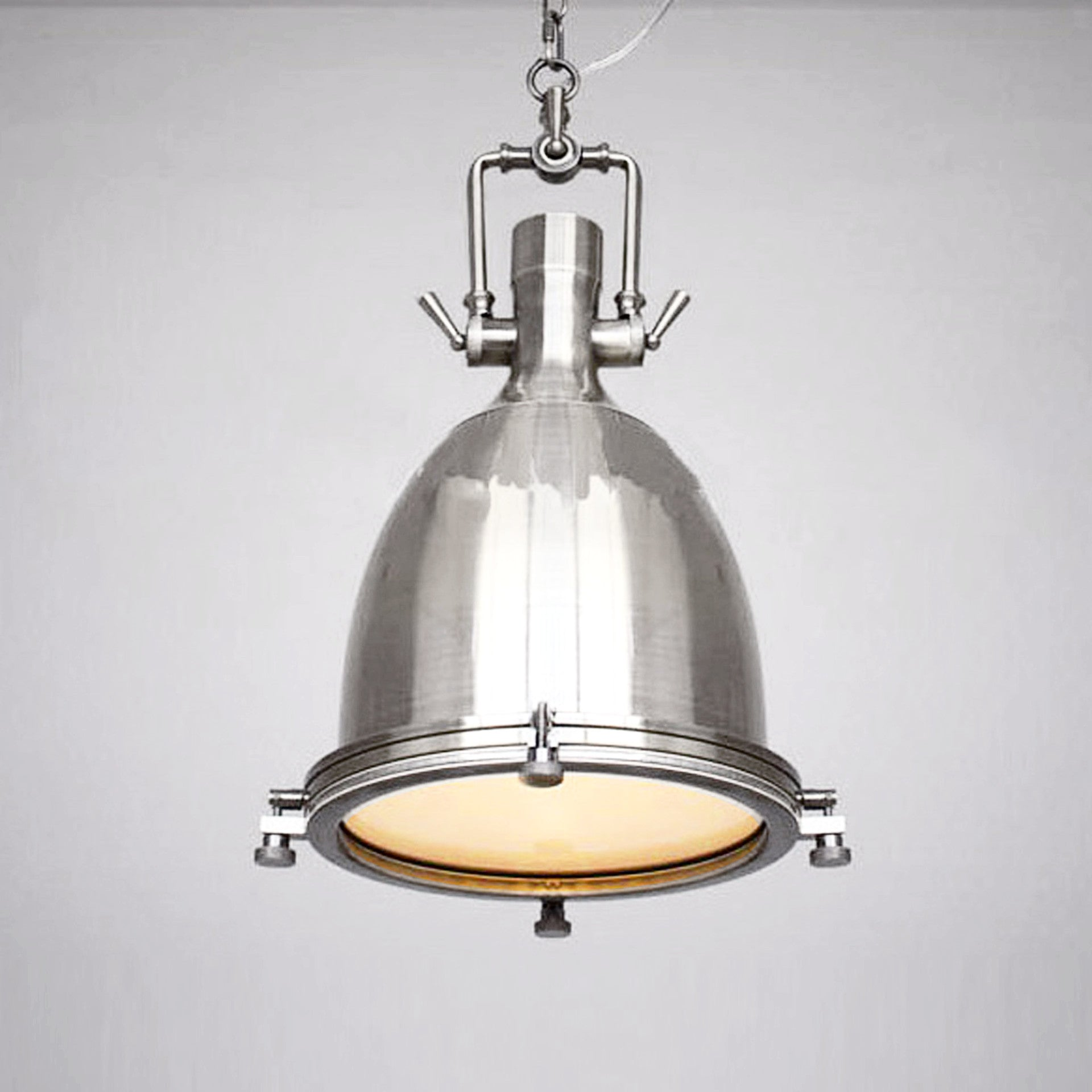 new product 93a8b acce4 Vintage brushed steel Pendant lamp BP0903 CY-DD-089
