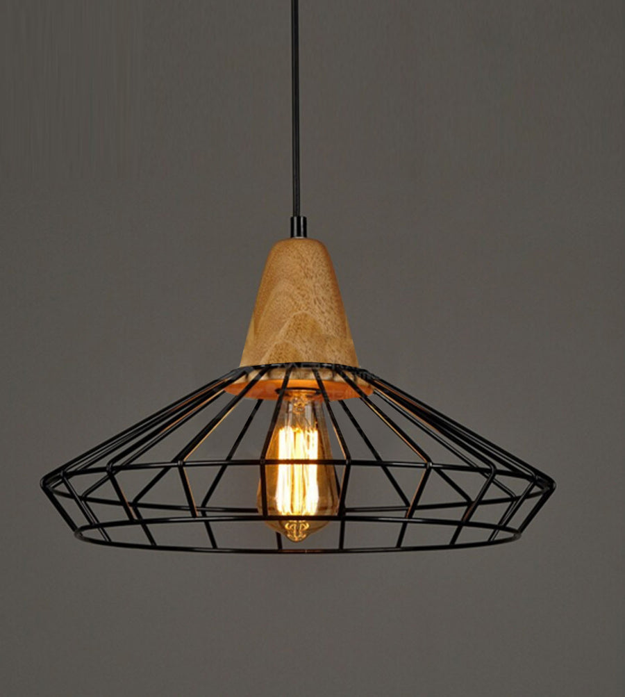 Wires Wrought Iron Pendant BPSY06 CY-DD-211 - ebarza