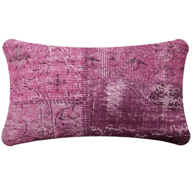 BURSA HANDMADE OVER DYED CUSHION COVER 30X60 SEC0072LBP - ebarza