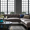 Pre-order 60 days Delivery Porto Sectional  sofa and 2 cushions Por001 - ebarza