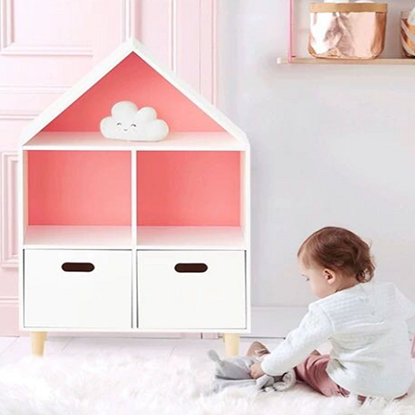 Pre-Order 70 days delivery Kids Shelf  HY-S001 -  رف الاطفال - Shop Online Furniture and Home Decor Store in Dubai, UAE at ebarza