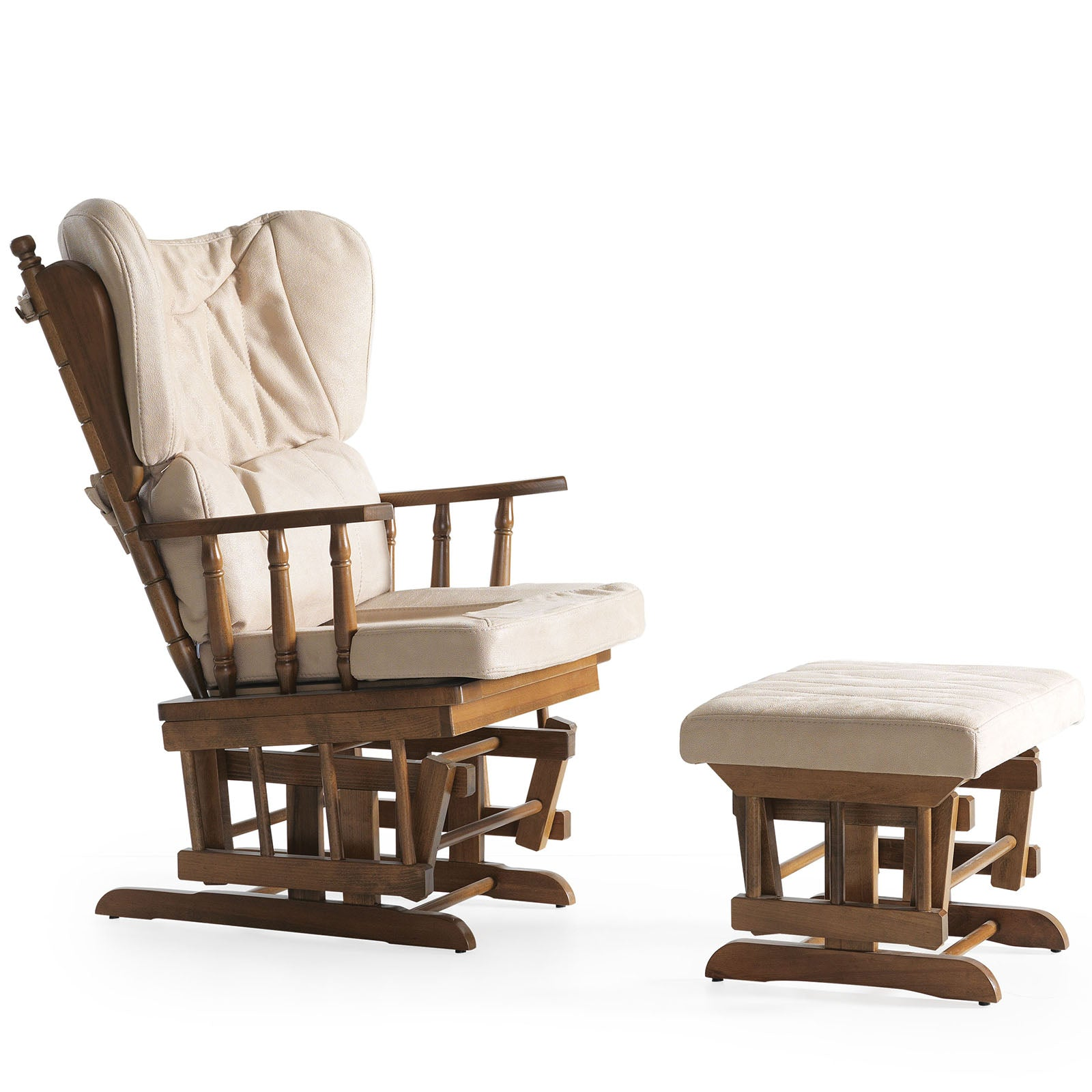 KONFOR  Rocking Chair and rocking  Pouf  KON-B001